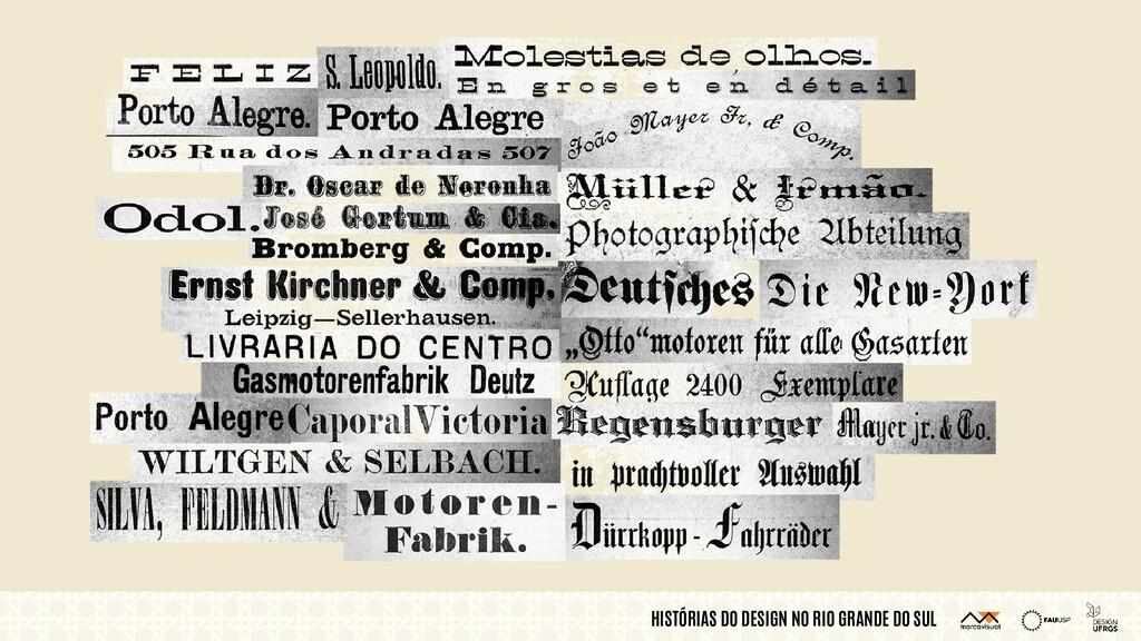 HISTÓRIAS DO DESIGN NO RIO GRANDE DO SUL