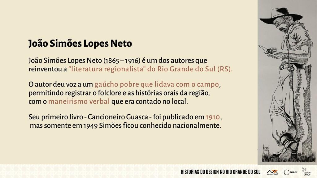 HISTÓRIAS DO DESIGN NO RIO GRANDE DO SUL João S...
