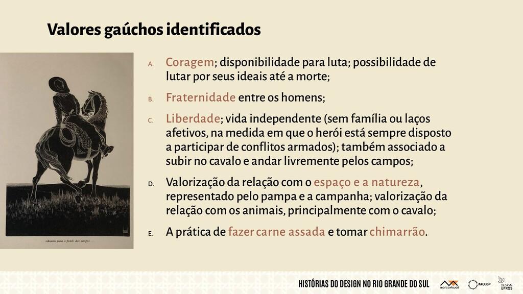 HISTÓRIAS DO DESIGN NO RIO GRANDE DO SUL Valore...