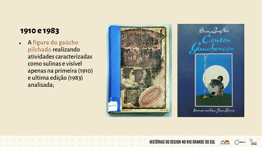 HISTÓRIAS DO DESIGN NO RIO GRANDE DO SUL 1910 e...