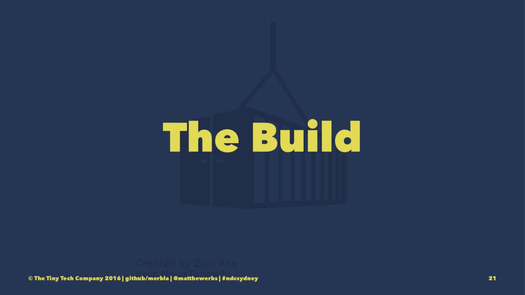 The Build © The Tiny Tech Company 2016 | github...