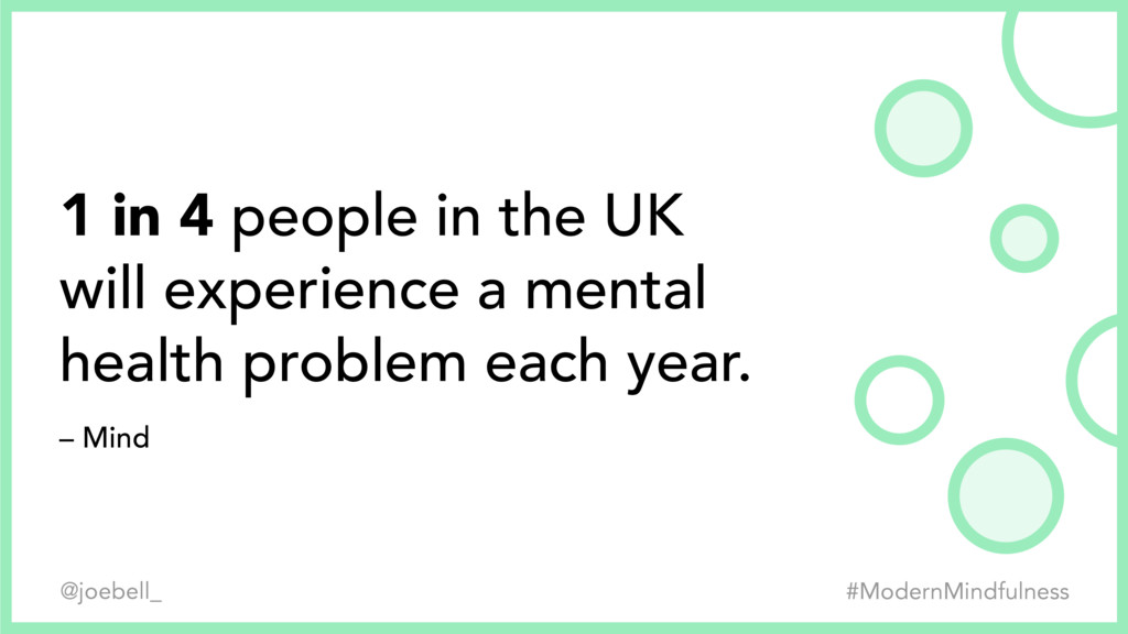 1 in 4 people in the UK 