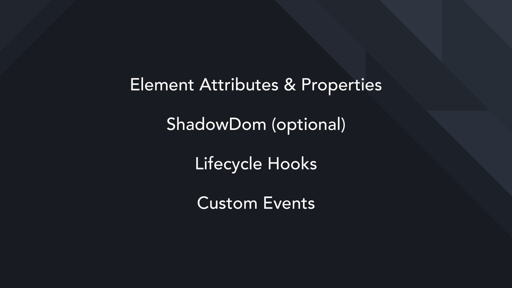 Element Attributes & Properties ShadowDom (opti...