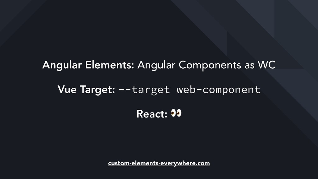Angular Elements: Angular Components as WC Vue ...