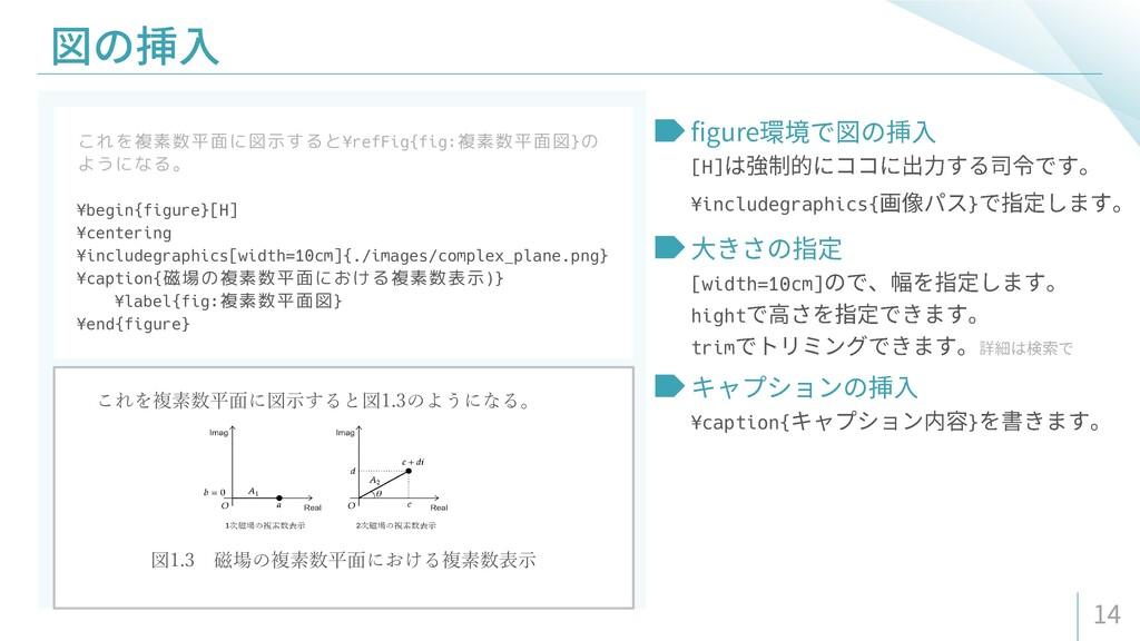 これを複素数平面に図示すると¥refFig{fig:複素数平面図}の ようになる。 ¥begi...