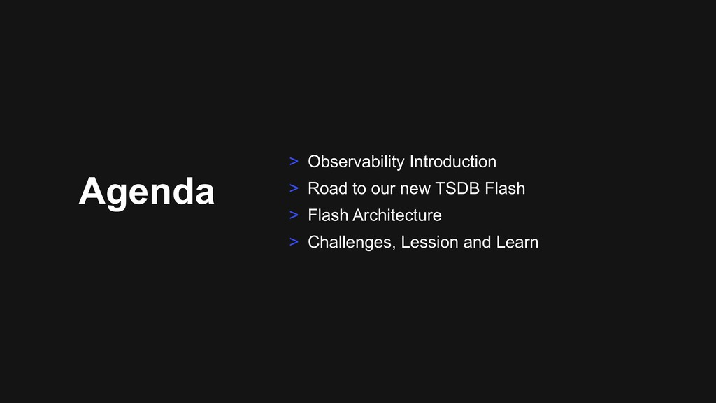 Agenda > Observability Introduction > Road to o...