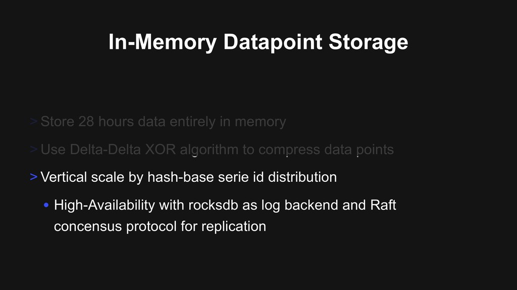 In-Memory Datapoint Storage > Store 28 hours da...