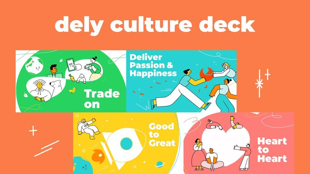 dely culture deck