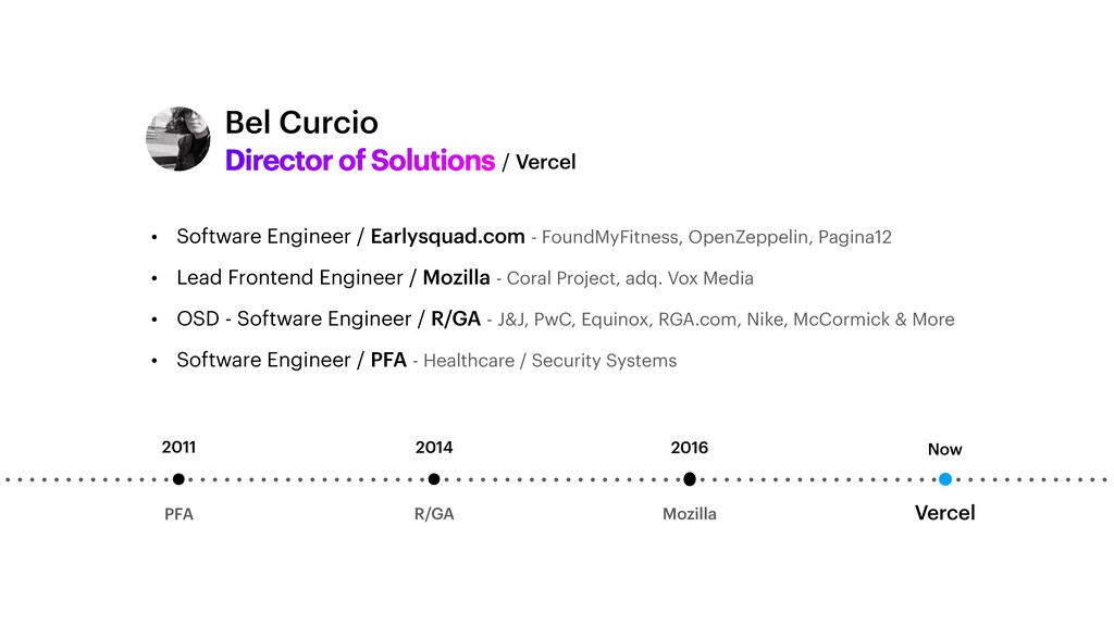 Director of Solutions • Software Engineer / Ear...
