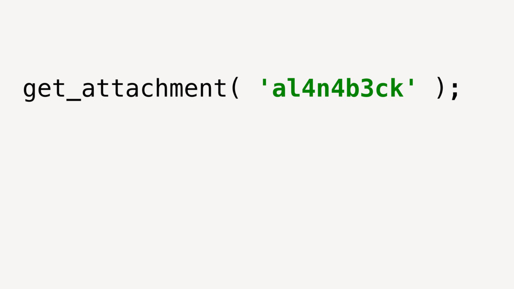 get_attachment( 'al4n4b3ck' );