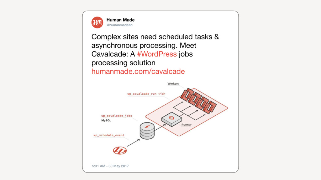 Complex sites need scheduled tasks & asynchrono...