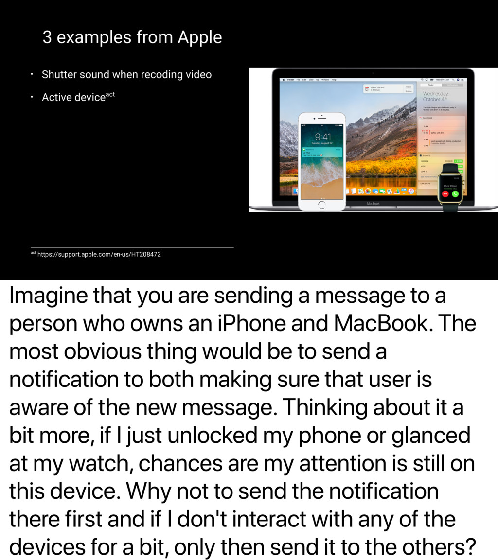 Imagine that you are sending a message to a per...