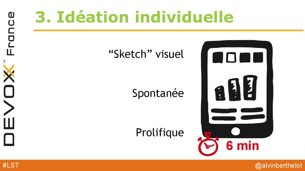 "3. Idéation individuelle ""Sketch"" visuel Sponta..."