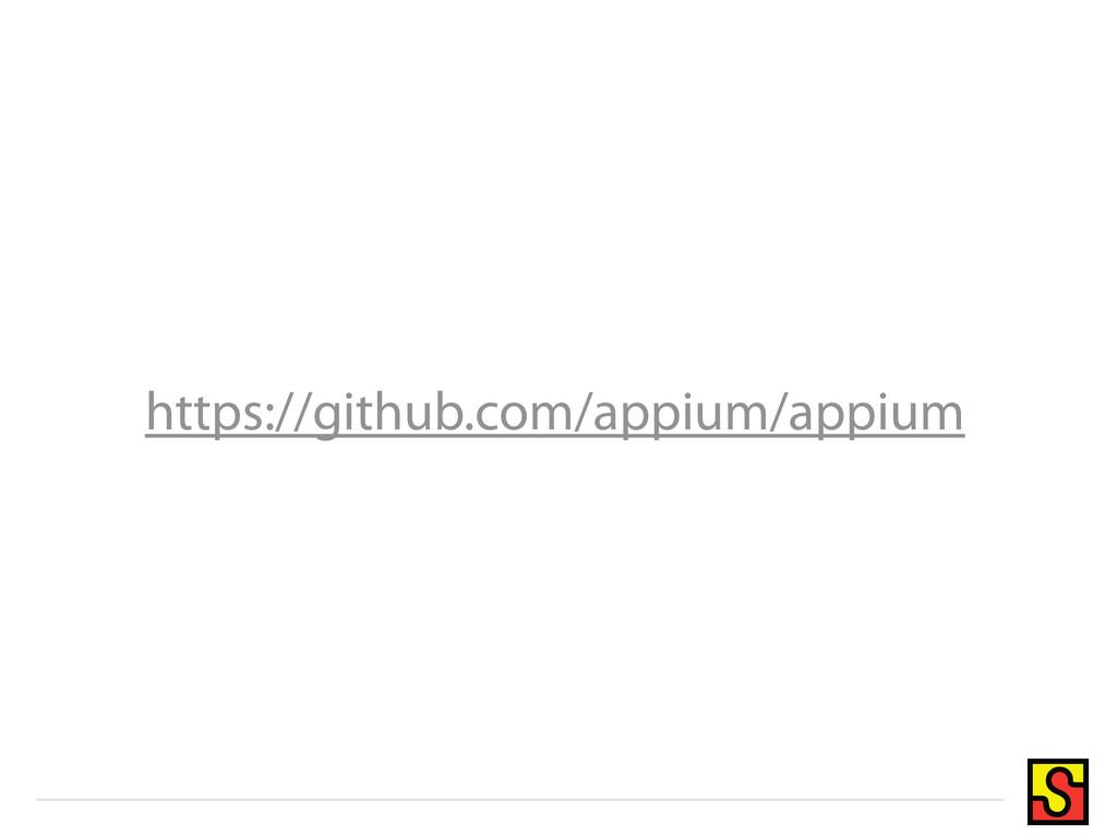 https://github.com/appium/appium