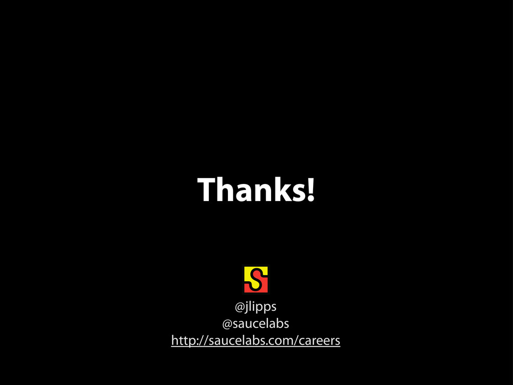 Thanks! @jlipps @saucelabs http://saucelabs.com...