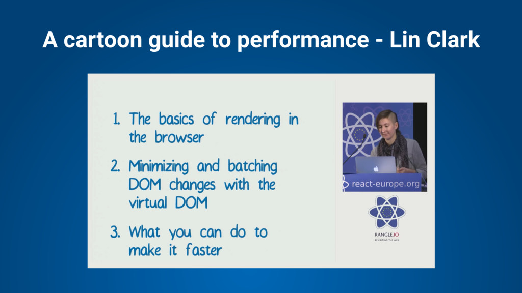 A cartoon guide to performance - Lin Clark
