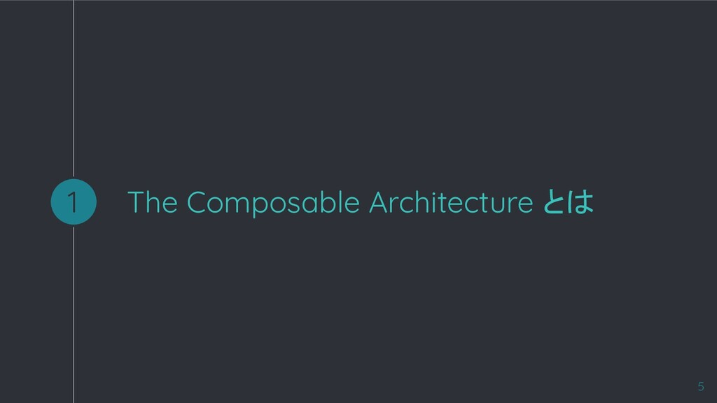 The Composable Architecture とは 1 5