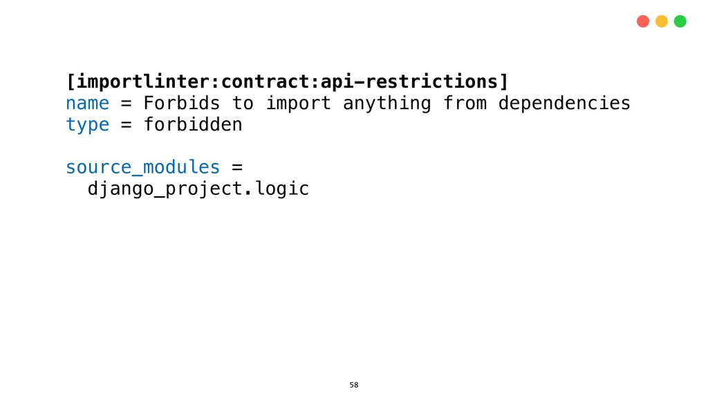 [importlinter:contract:api-restrictions] name =...
