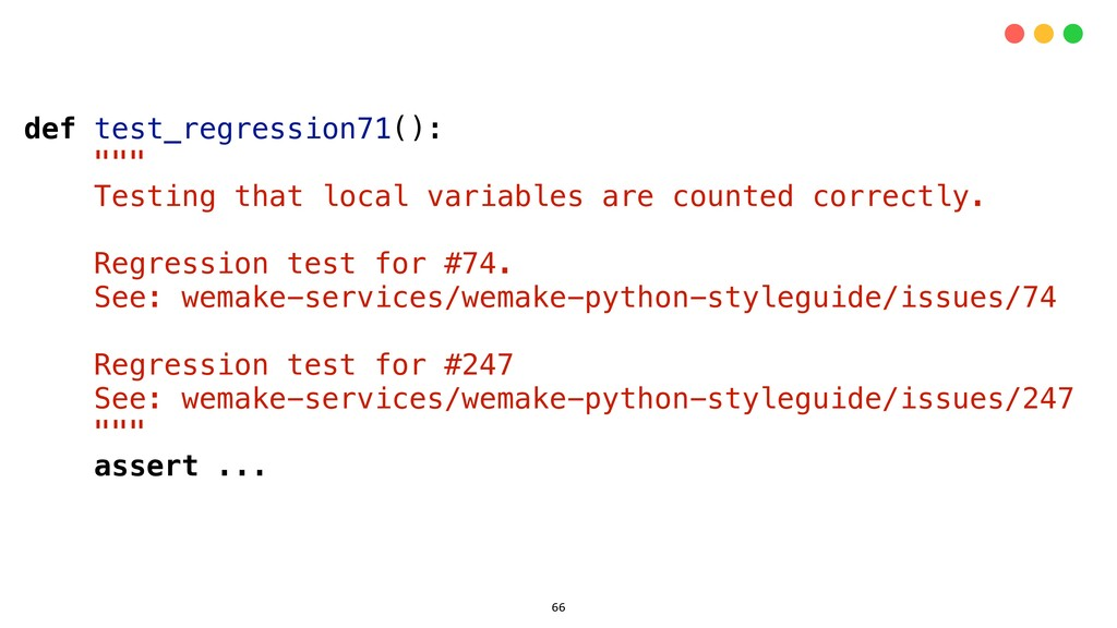 "def test_regression71(): """""" Testing that local..."
