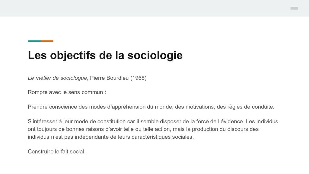 Le métier de sociologue, Pierre Bourdieu (1968)...
