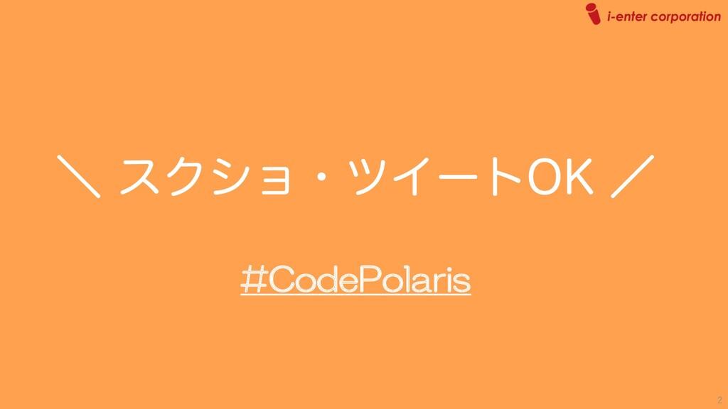 #CodePolaris ʘ εΫγϣɾπΠʔτ0, ʗ 2