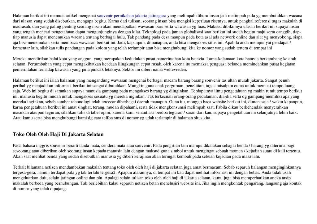 Halaman berikut ini memuat artikel mengenai sou...