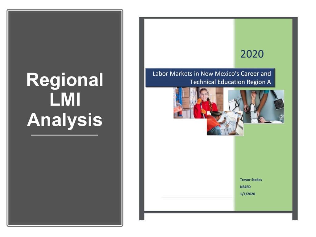 Regional LMI Analysis