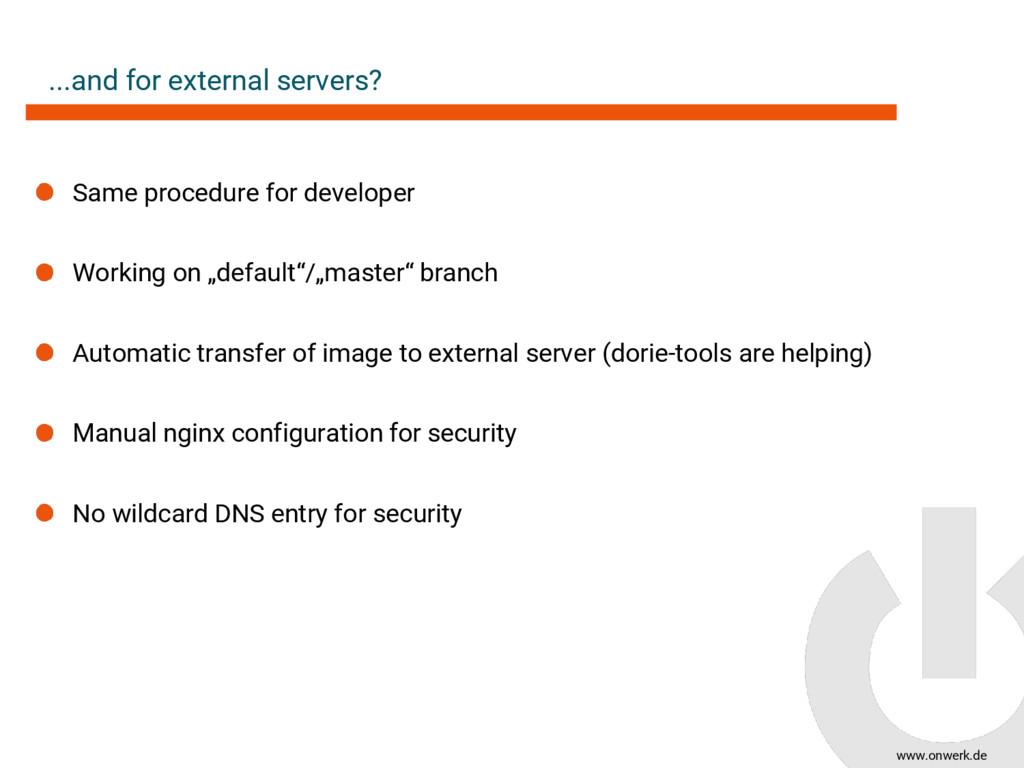 www.onwerk.de ...and for external servers? Same...