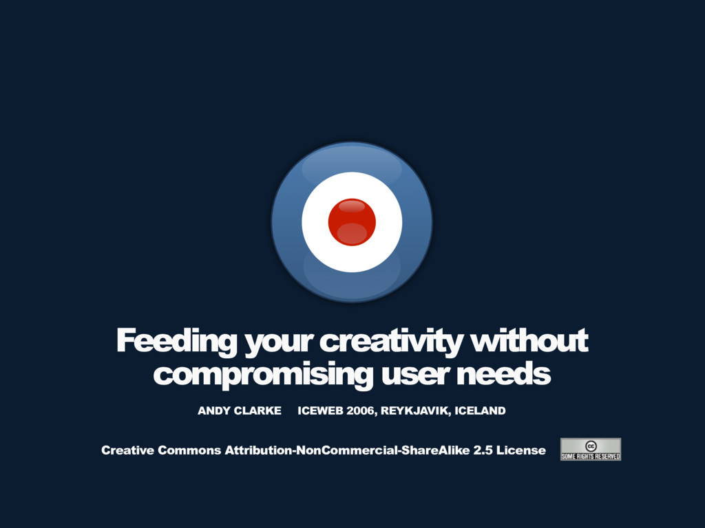 Feeding your creativity without compromising us...