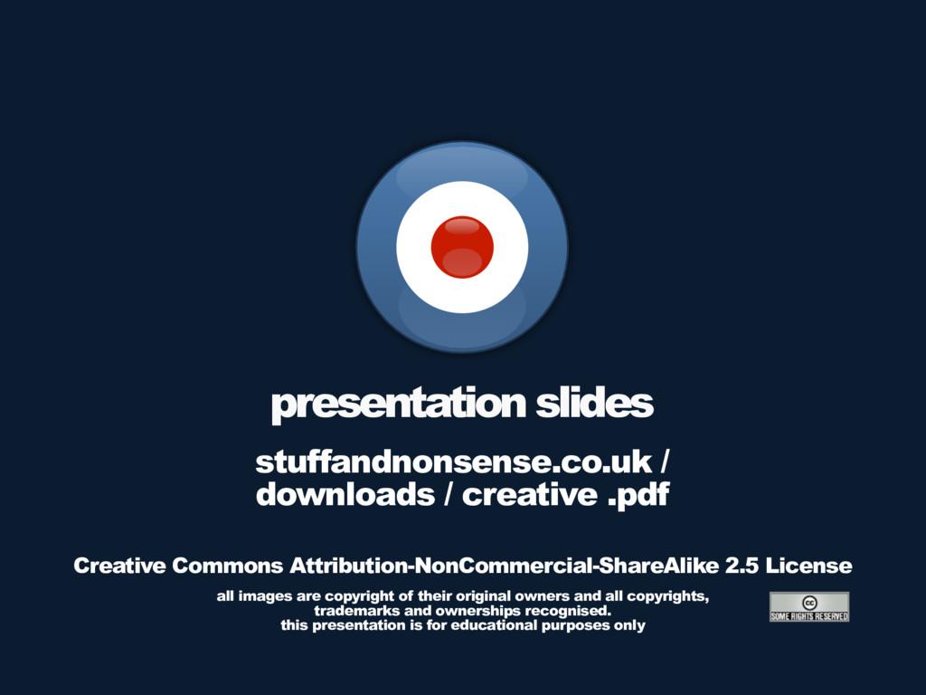presentation slides stuffandnonsense.co.uk / do...