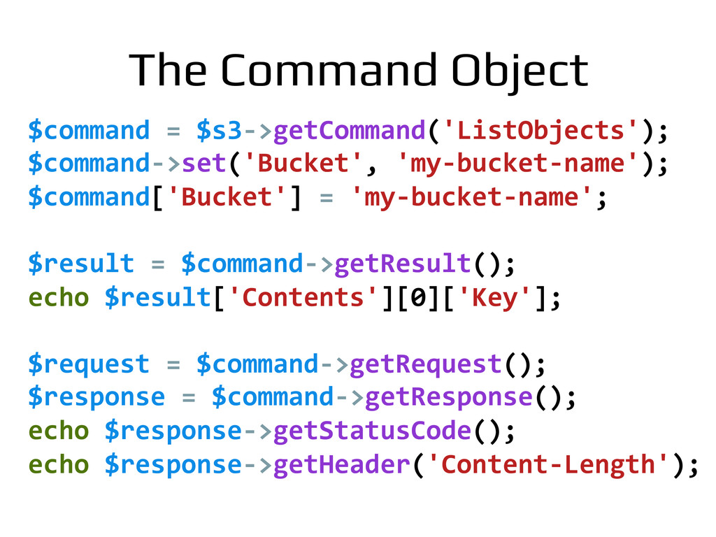 $command	