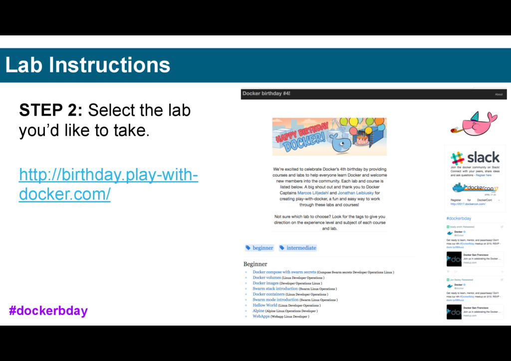 STEP 2: Select the lab you'd like to take. http...