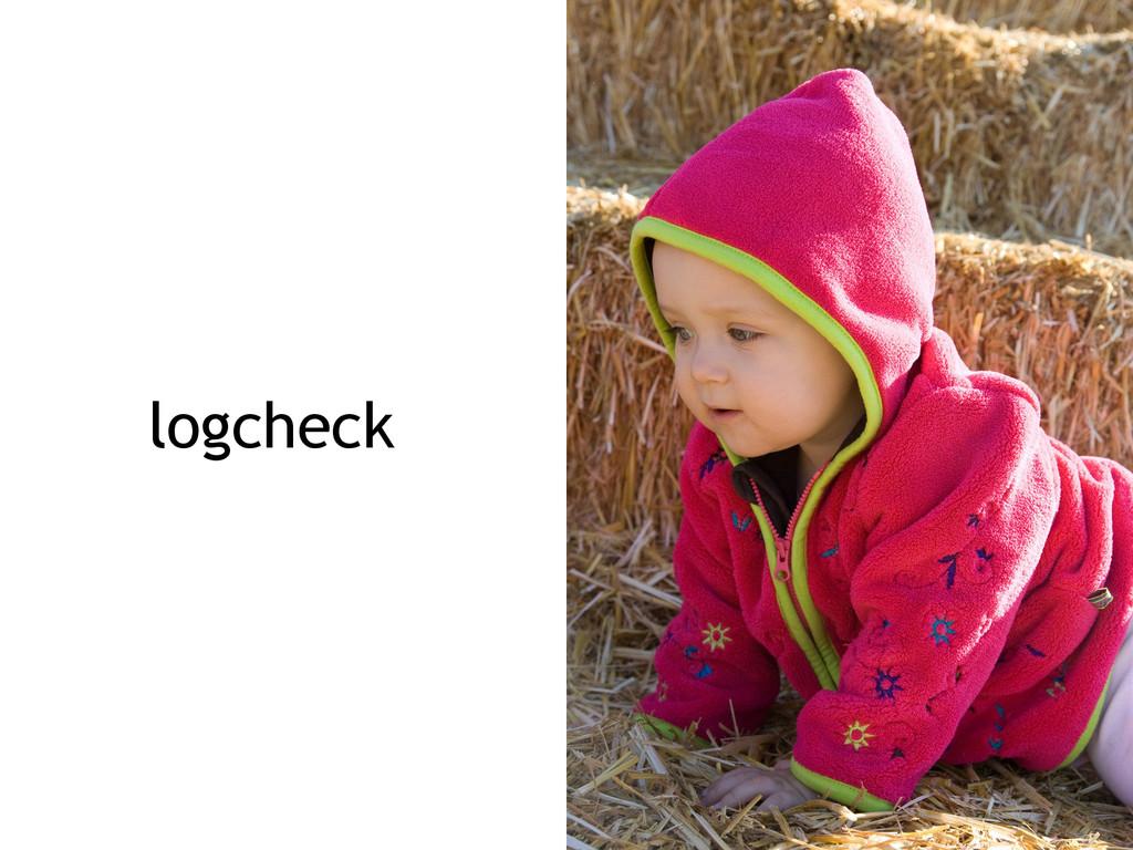logcheck