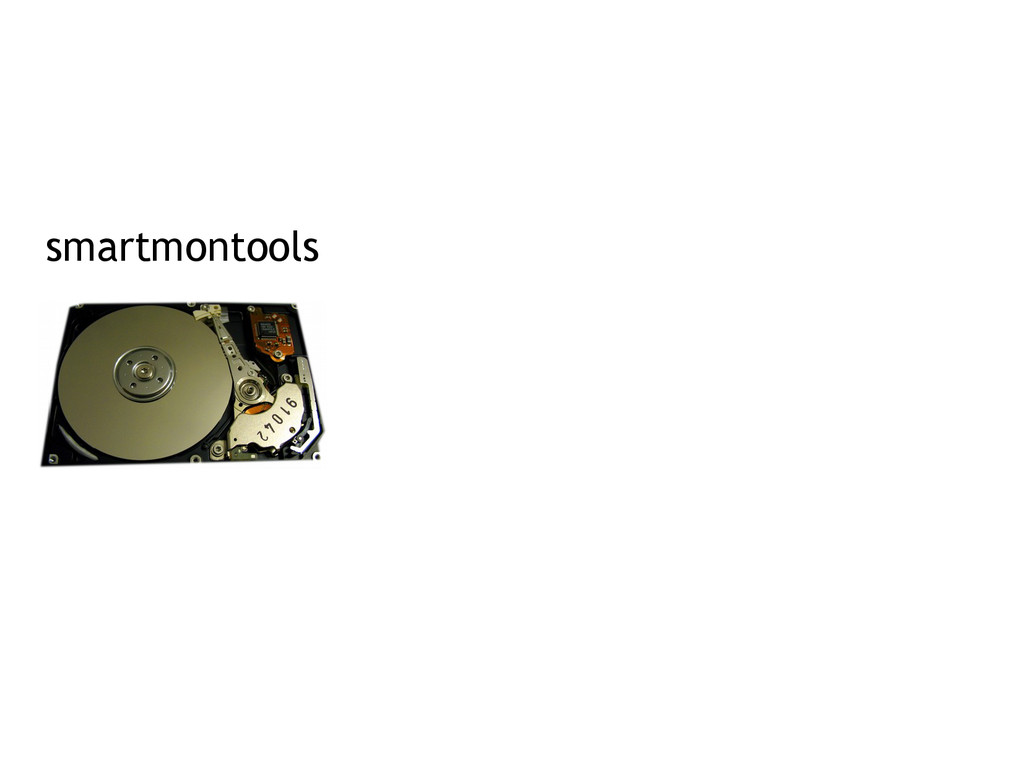 smartmontools