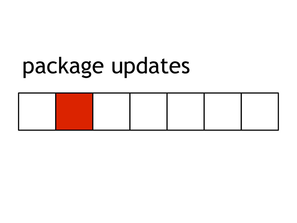 package updates