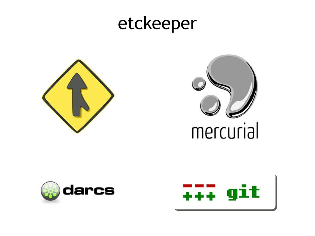 etckeeper