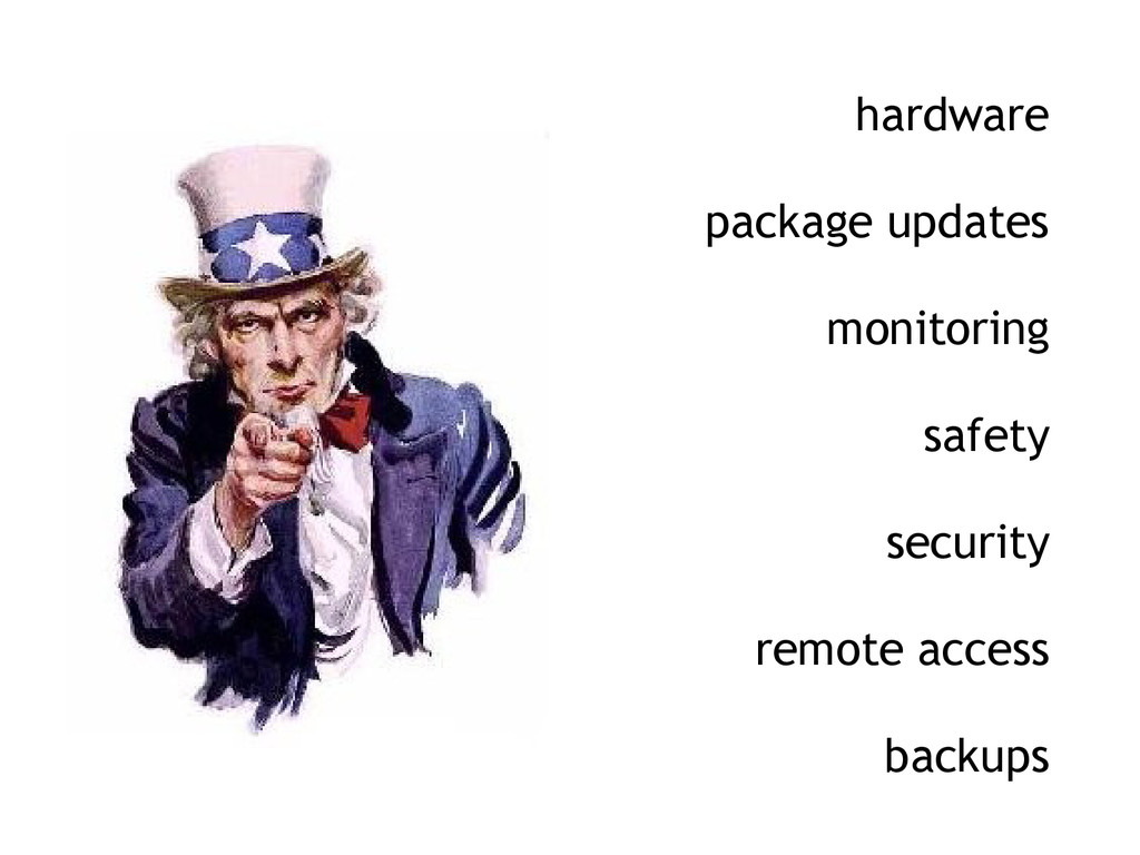 hardware package updates monitoring safety secu...