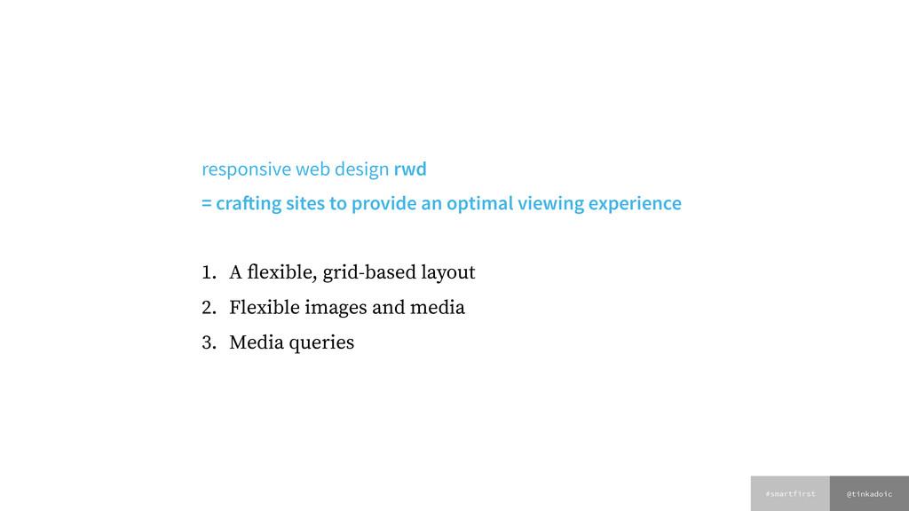 @tinkadoic #smartfirst responsive web design rw...