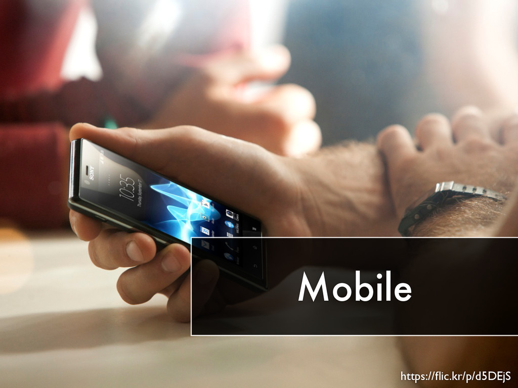 Mobile https://flic.kr/p/d5DEjS