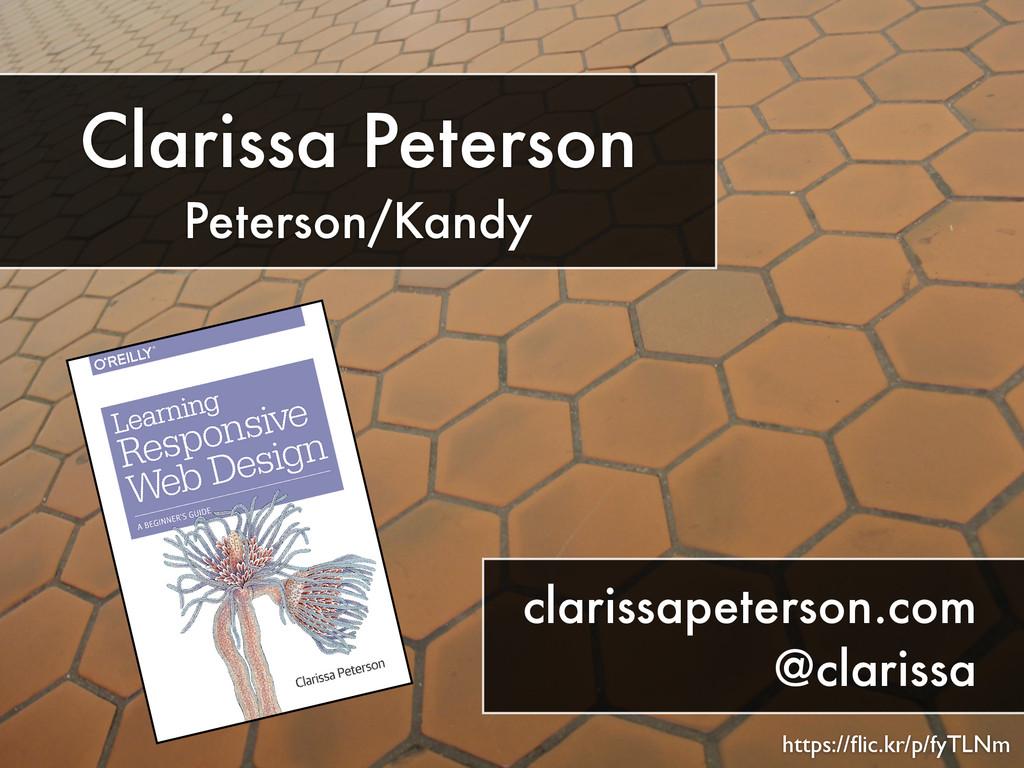 https://flic.kr/p/fyTLNm Clarissa Peterson Peter...