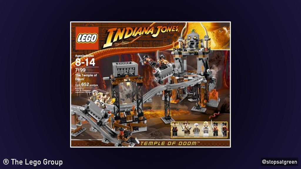 @stopsatgreen ® The Lego Group