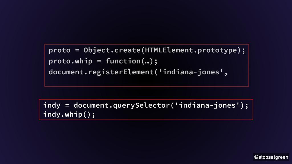 @stopsatgreen proto = Object.create(HTMLElement...