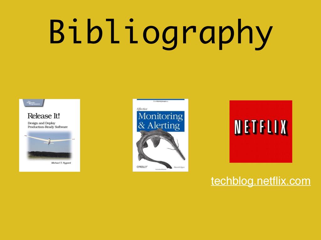 Bibliography techblog.netflix.com
