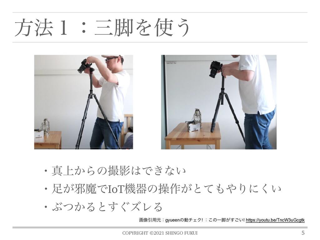COPYRIGHT ©2021 SHINGO FUKUI ํ๏̍ɿ٭Λ͏ 5 ɾਅ্͔Βͷ...