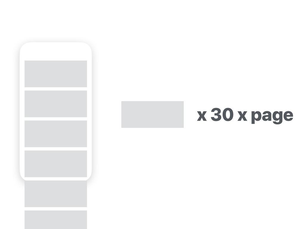 x 30 x page