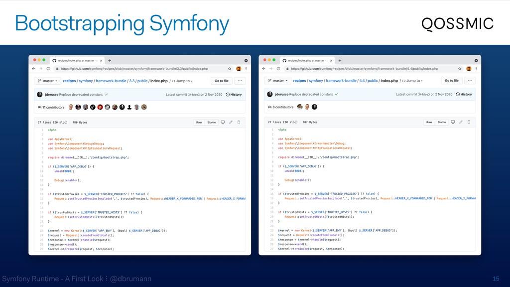 Symfony Runtime - A First Look ⠇@dbrumann 15 Bo...