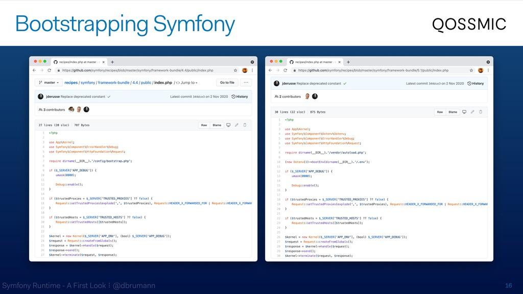 Symfony Runtime - A First Look ⠇@dbrumann 16 Bo...