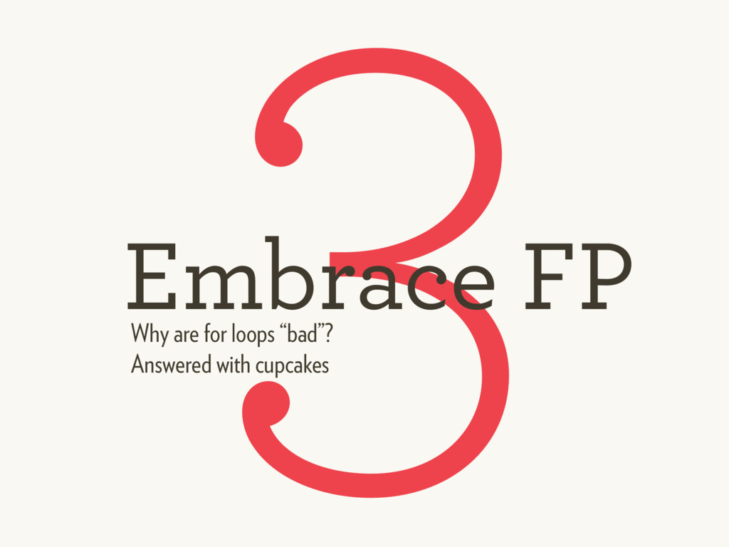 3 Embrace FP Answered with cupcakes Why are for...