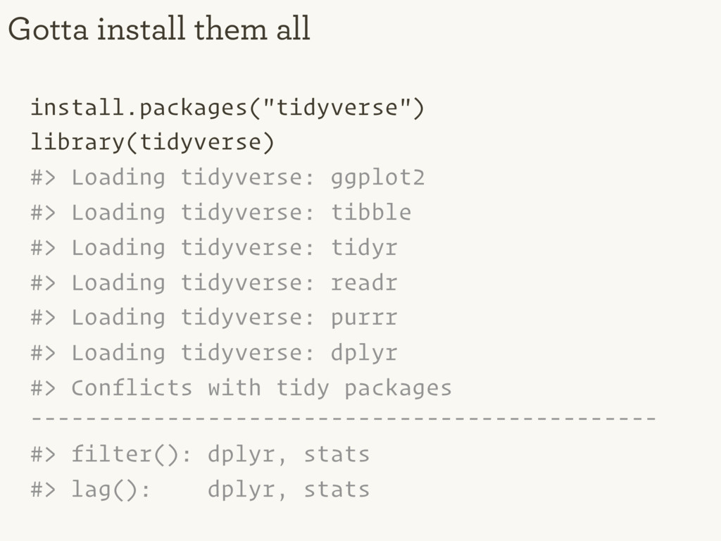 """install.packages(""""tidyverse"""") library(tidyverse..."""