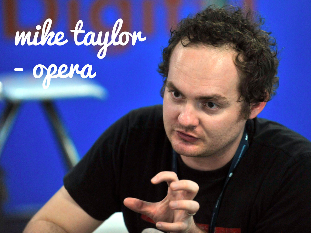 mike taylor - opera